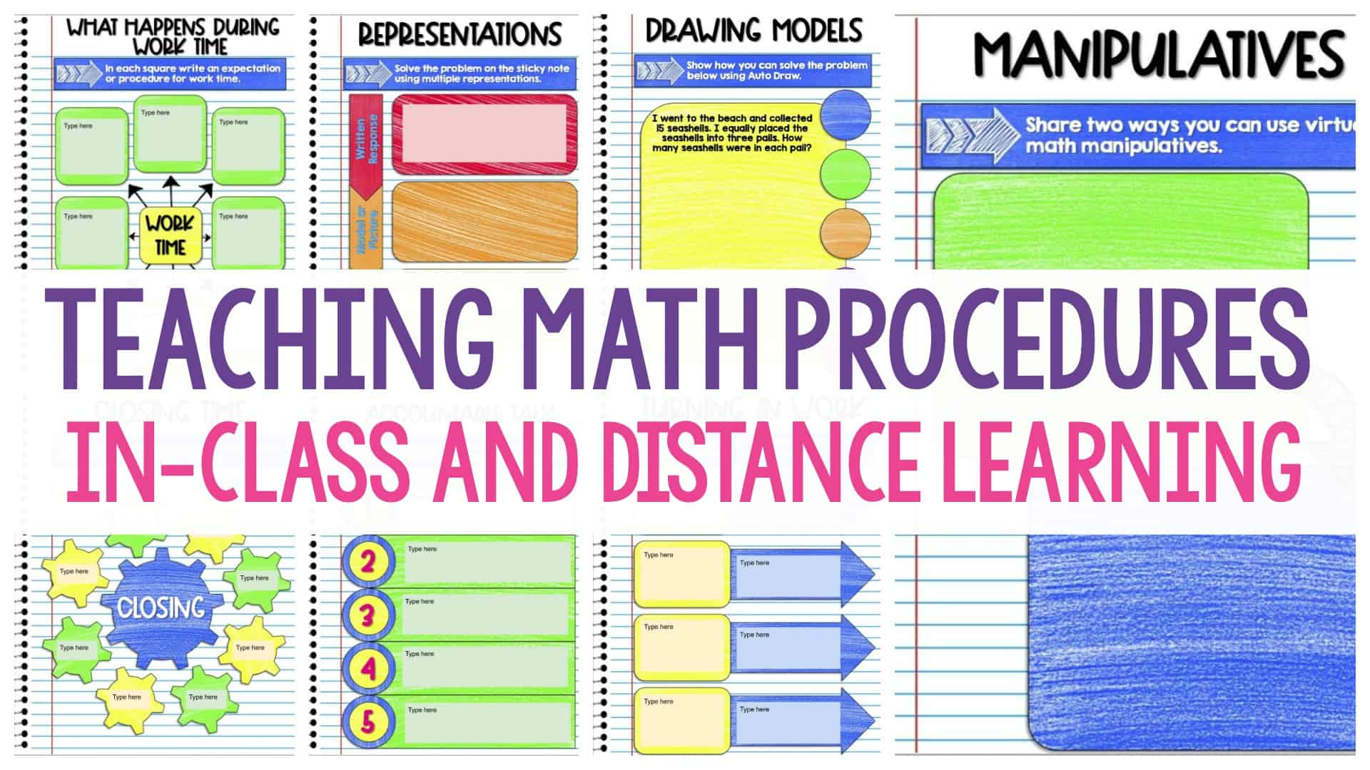 How To Teach Math Procedures With Social Distancing And