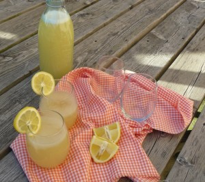 Lazy Girl's Ginger Lemonade