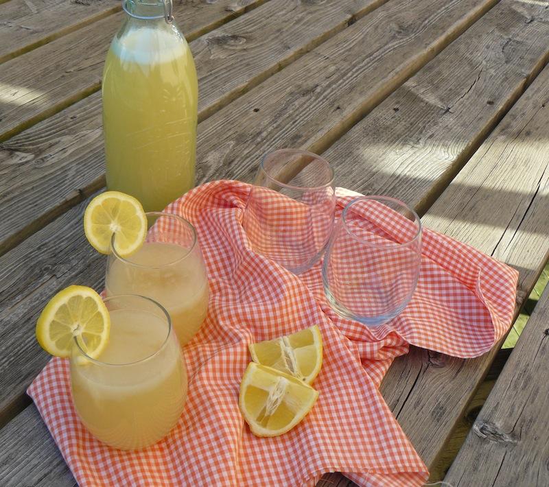 Lazy Girl's Ginger Lemonade