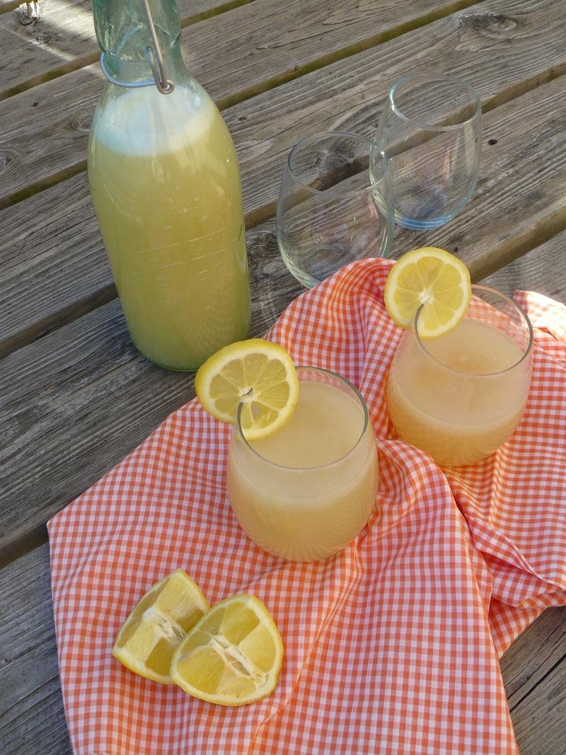 Lazy Girl's Ginger Lemonade 3 vegan