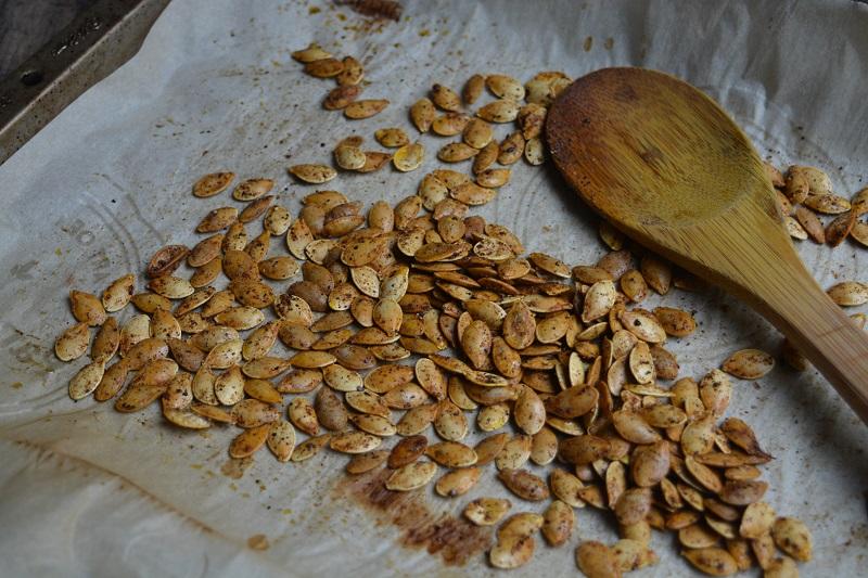 Spaguetti squash seeds small