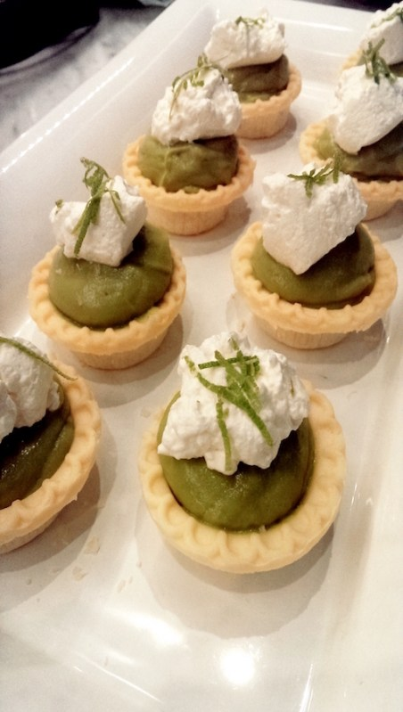 Private chef recipe developer ashleigh grange rhn personal key lime pie tarts with lime avocado filling sweetened coconut whip forumfinder Gallery