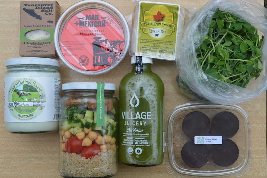 Fresh City Farms shopping spree