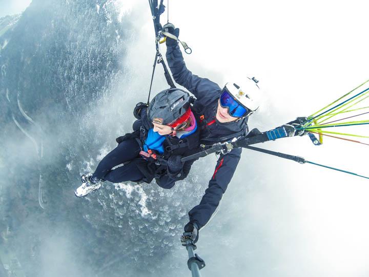 High Above the Alps: Paragliding in Interlaken, Switzerland