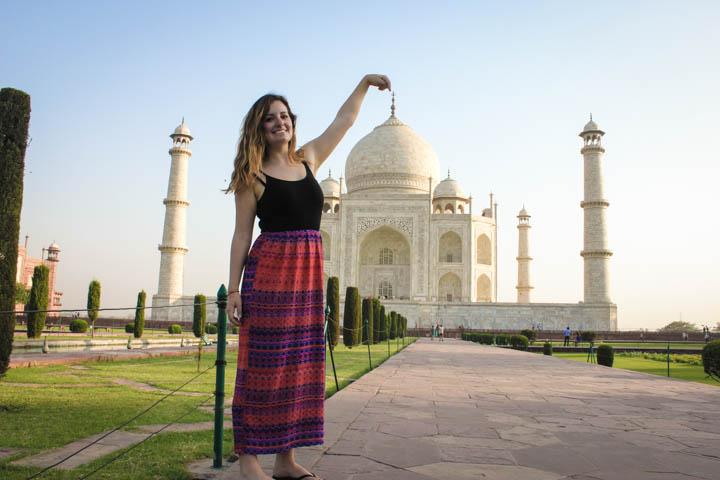 The Taj Majal at Sunrise: A Photo Essay