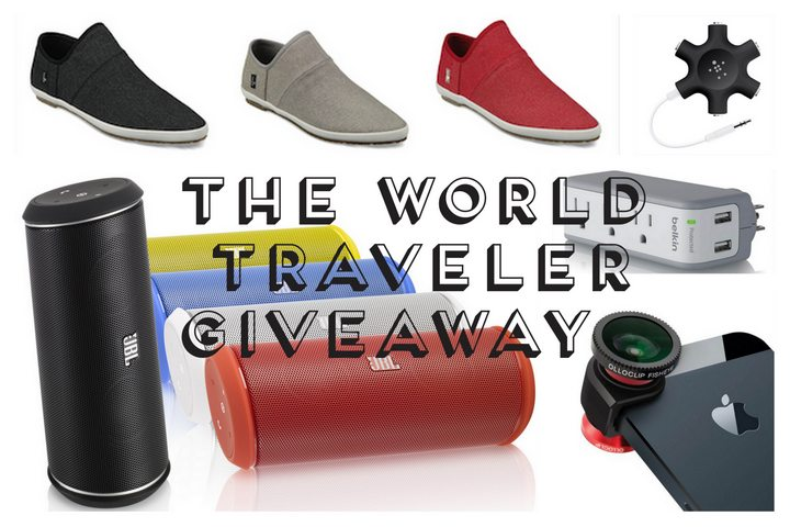 The World Traveler Giveaway! JBL Speaker, olloclip iPhone Camera & More [CLOSED]