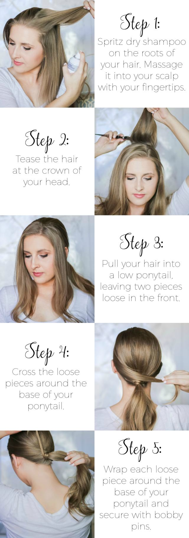 easy second-day hairstyles | ashley brooke nicholas