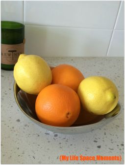 Fruit for Citrus Herb Crusted Chicken - {My Life Space Moments}