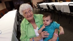 My Grandma Beth and My Baby