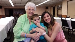 Grandma Beth, My Baby Boy and Me