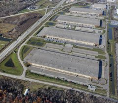 Industrial Property for Lease Michigan - Brownstown South Aerial