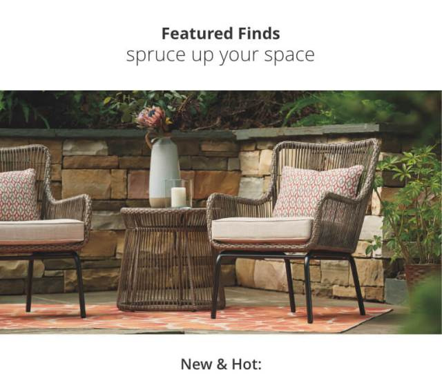 Outdoor Fireplace And Chairs