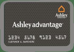 already have an ashley advantage credit card