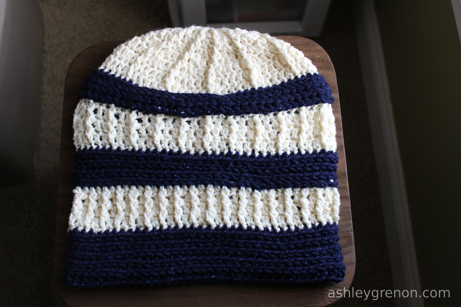 Ashley Makes: Crochet Slouchy Hat - Handmade with Ashley