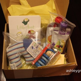 Ashley Unboxes:  Citrus Lane December 2014 Package