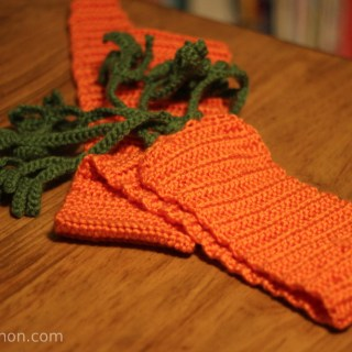 Crochet Carrot Scarf
