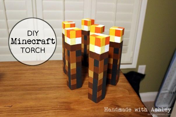 Ashley Makes: Minecraft Torch