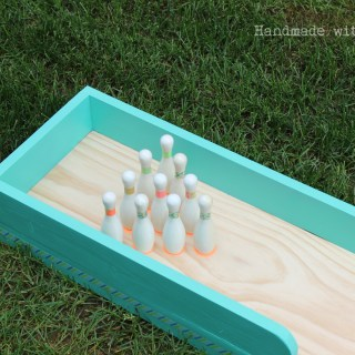 DIY Bowling Lane (Tutorial)