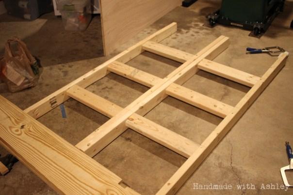 Rack ladders assembled