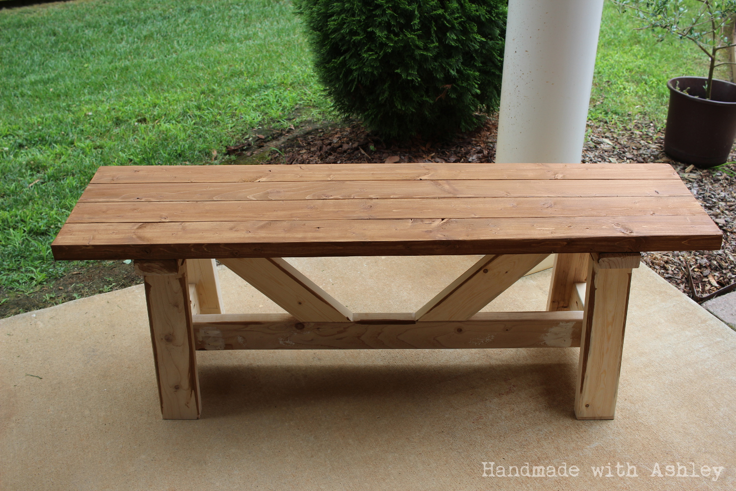 diy providence bench plans by ana white handmade with ashley