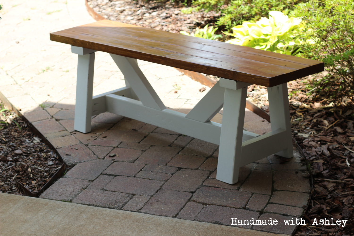 Diy Providence Bench Plans By Ana White Handmade With