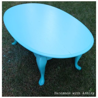 Spray Me Pretty – Coffee Table Makeover