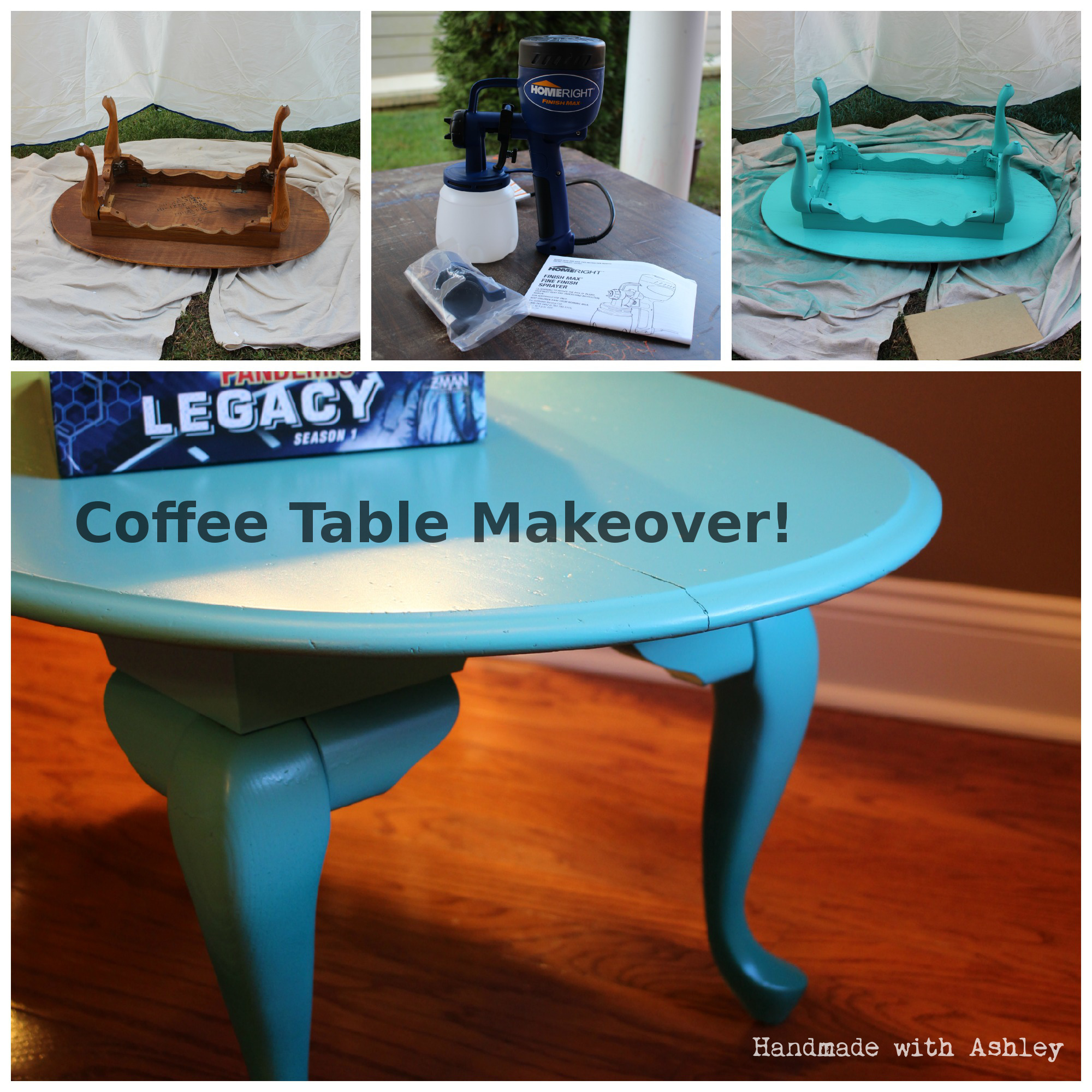 Coffee Table Makeover!