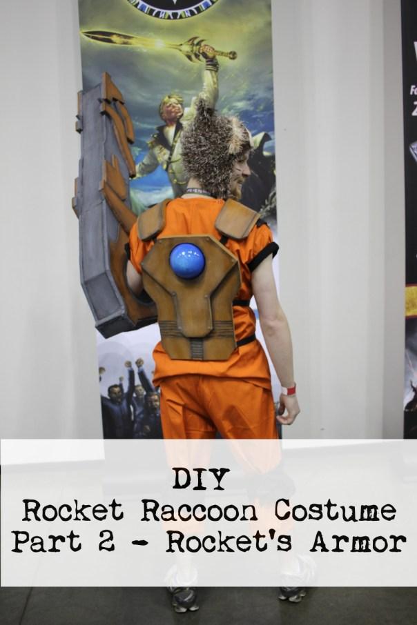 DIY Rocket Raccoon Costume Part 2 - Rocket's Armor