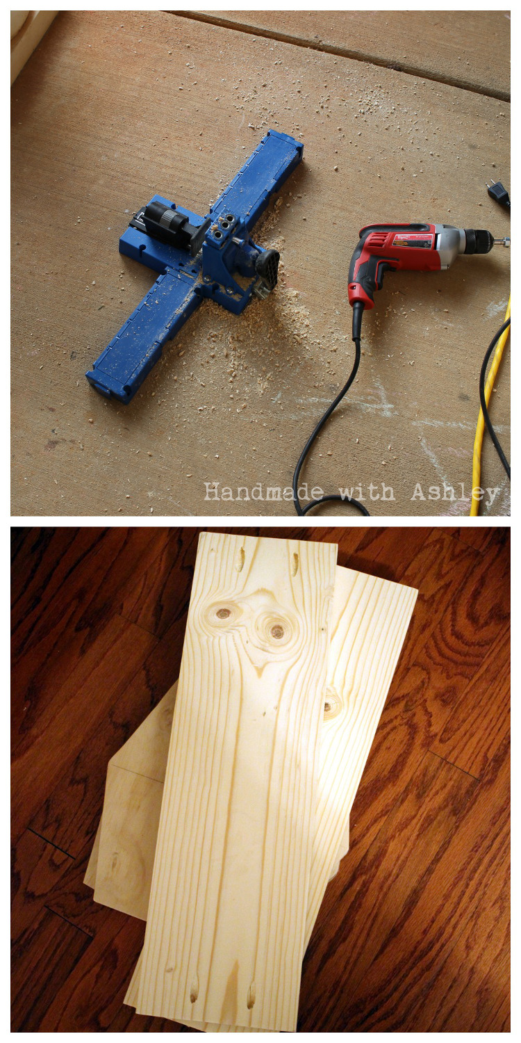 Creating pocket holes with my Kreg Jig