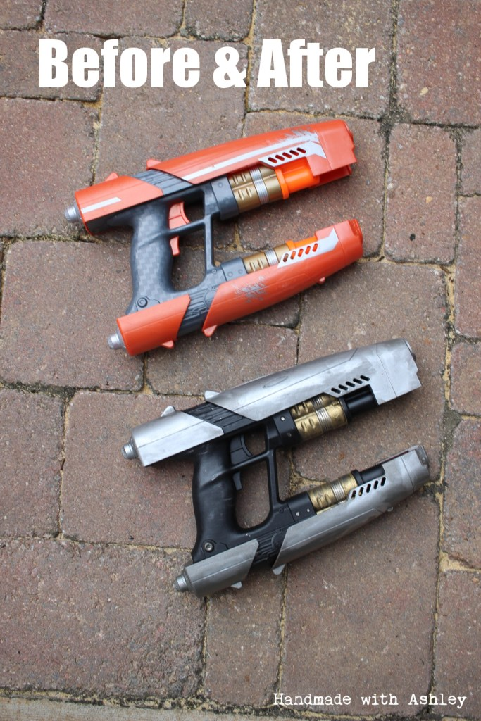 Before & After Star Lord's Quad Blaster Makeover