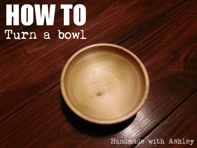 How to turn a bowl