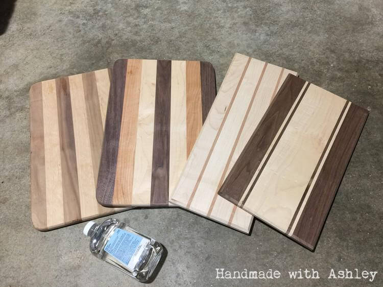 How to make a wooden cutting board