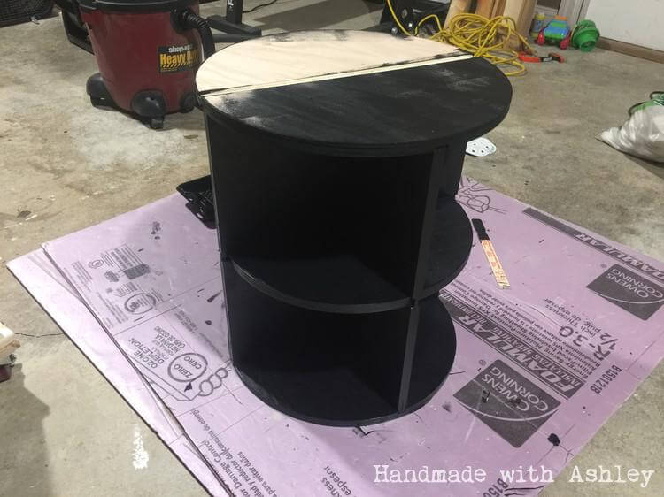 Painting the table base