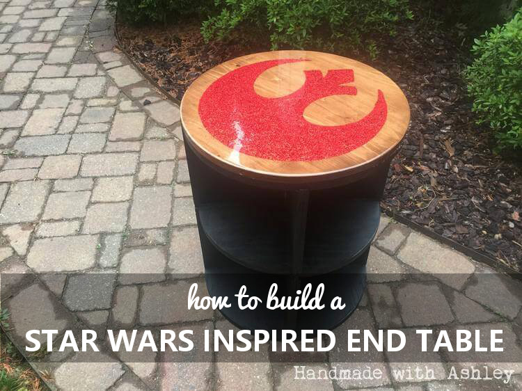 DIY Star Wars Inspired End Table