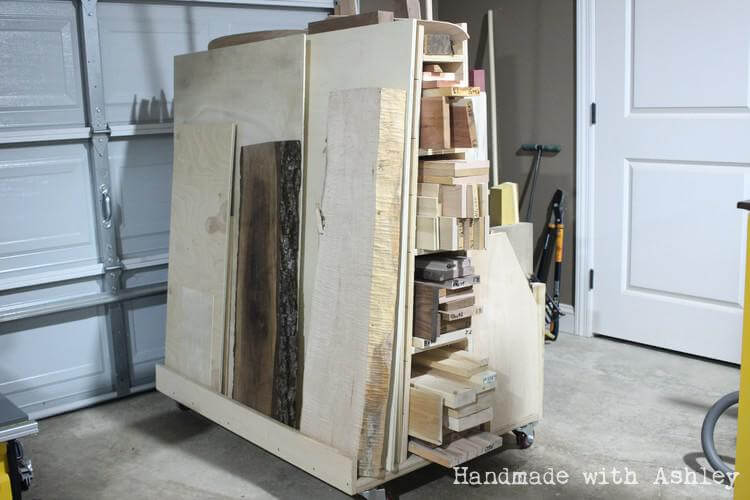 DIY Mobile Lumber Cart | Plans from Woodworking for Mere Mortals