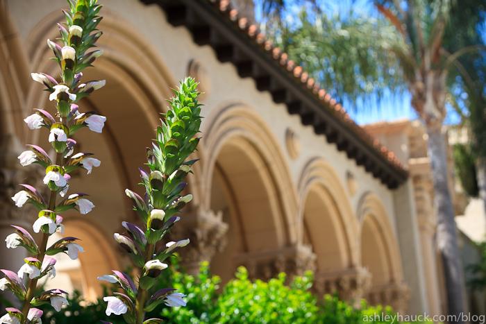 Casa de Balboa archways at Balboa Park, San Diego, California
