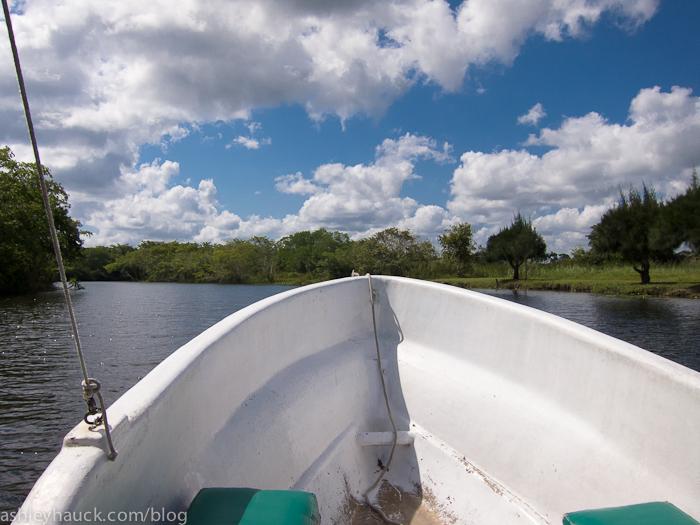 New River tour to Lamanai