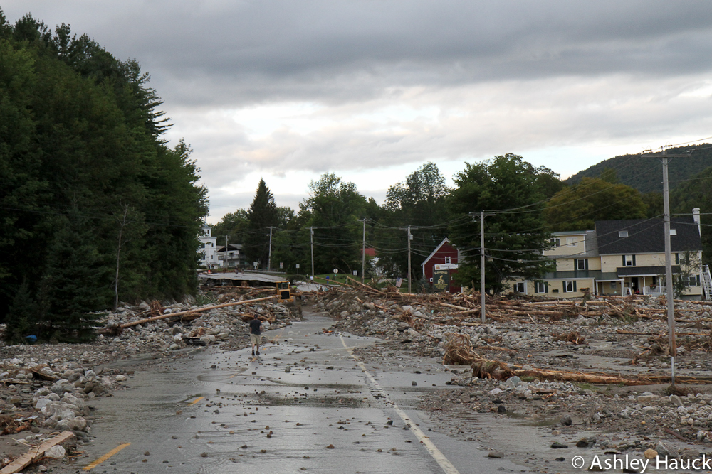 2011-08 - Hurricane Irene in Killington Vermont