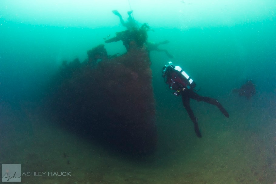 Diving the Ruby E wreck