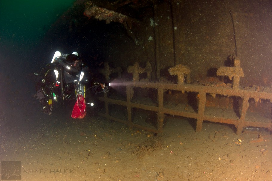 Diving the Palawan wreck