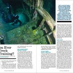 Photo of the HMCS Yukon (San Diego, California) in Scuba Diving Magazine by Ashley Hauck
