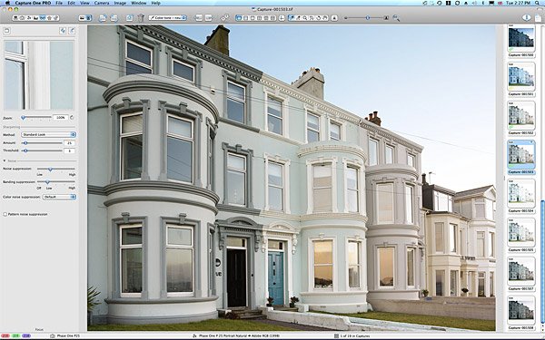 Keri Johnston's townhouse which overlooks Ballyholme Bay in the County Down seaside town of Bangor.