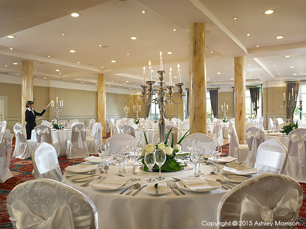 The Ballyvaughan ballroom at the Galway Bay Hotel in Salthill.