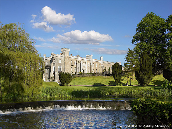 Bellingham Castle in the heart of the medieval village of Castlebellingham in County Louth.