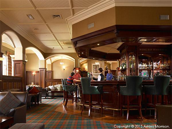 Garden Bar at the Killarney Park Hotel in the Irish county of Kerry.