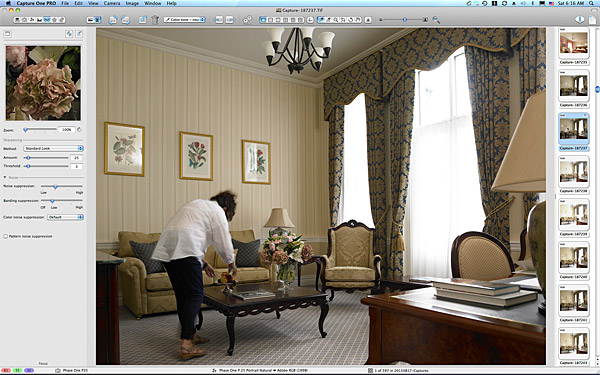 One of the first pictures taken in the Liffey Deluxe suite at the Kildare Hotel Spa & Golf Club.
