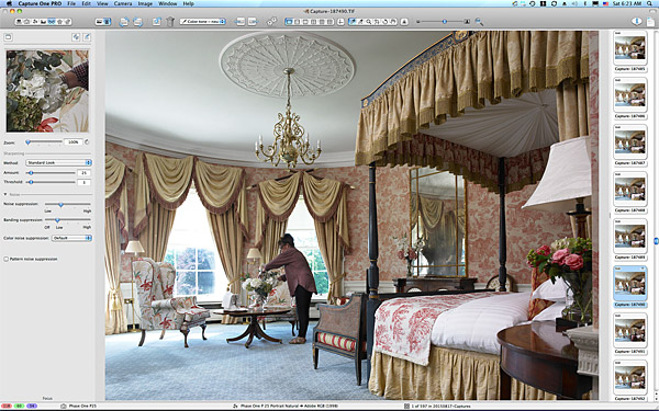 One of the first pictures taken in the Viceroy Suite at the Kildare Hotel Spa & Golf Club