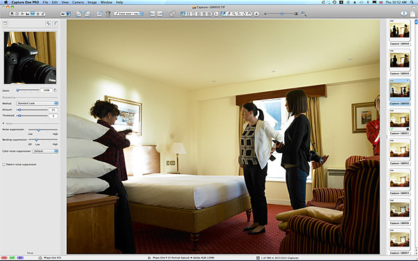 First picture taken in the Classic bedroom at the Galway Bay Hotel on the promenade at Salthill.