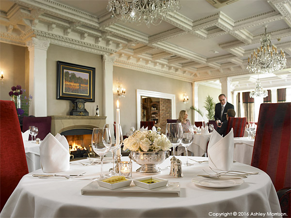 The Park Restaurant at Killarney Park Hotel in the Irish County of Kerry.