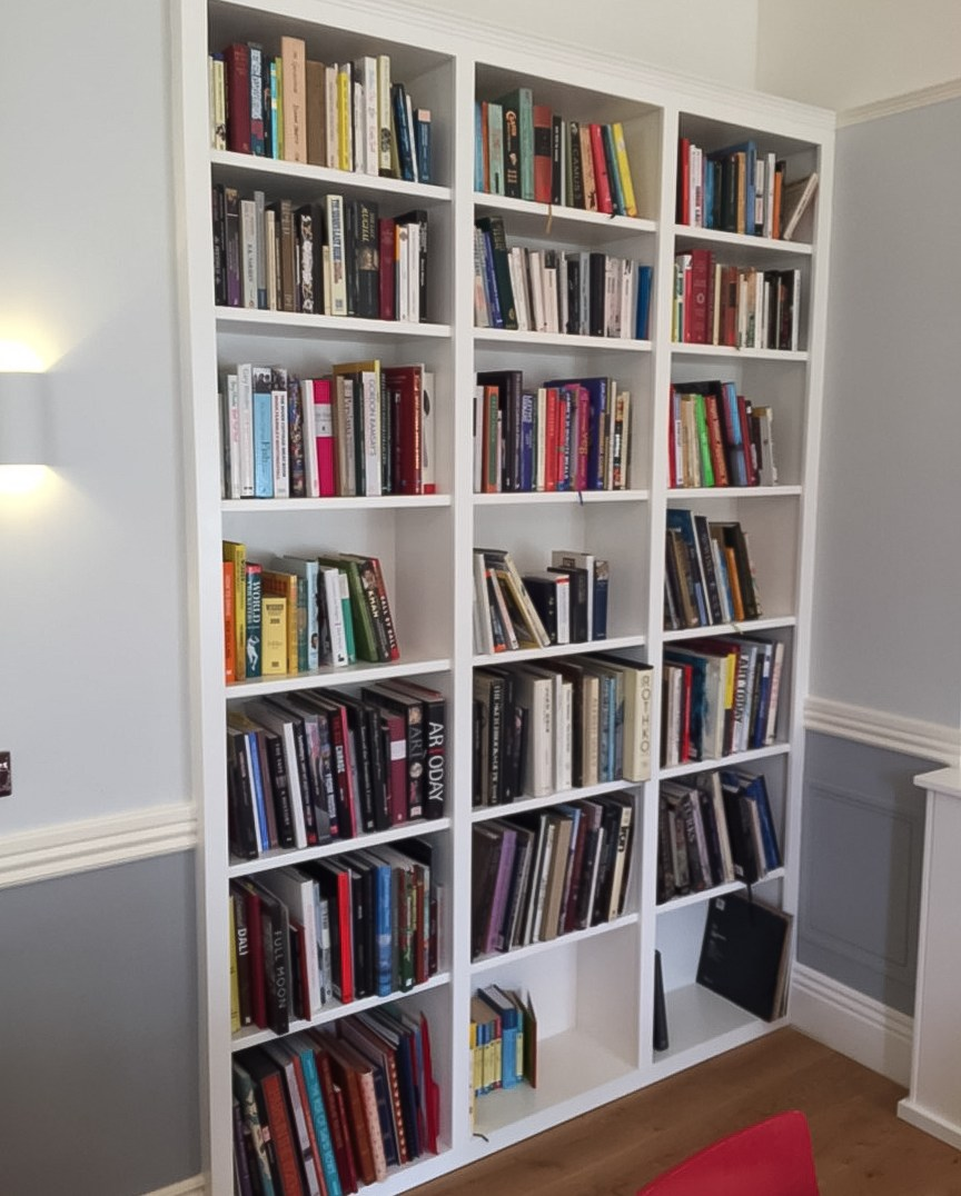 3 Metre High Fitted Bookcase
